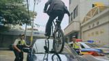 '자동차를 뛰어넘는 자전거!' 김무열의 폭풍 질주!