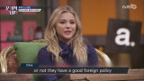 (English Subtitles) [The Brainiacs] Chloe states clearly about her political stance about Hilary vs Donald.