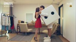 이광수♥이주연 LTE 키스