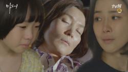 이혜영에게 마지막 인사를 건네는 허율 ′안녕, 할머니..′