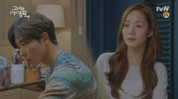 '화가' 김재욱을 만나고 싶은 소망이 커져가는 박민영