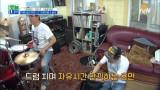 드럼 치는 비트밀당男 김용만! 못 하는 게 없네~
