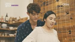 이기우, 김소라 앞치마 매주고 함께 요리하기